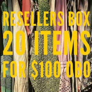 RESELLERS BOX! 20 items for $100 OBO